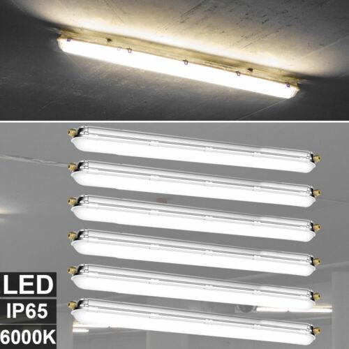 LED 2x 4x 6x 8x Werkstatt Decken Wannen Lampe Keller Feuchtraum Leuchte 150cm