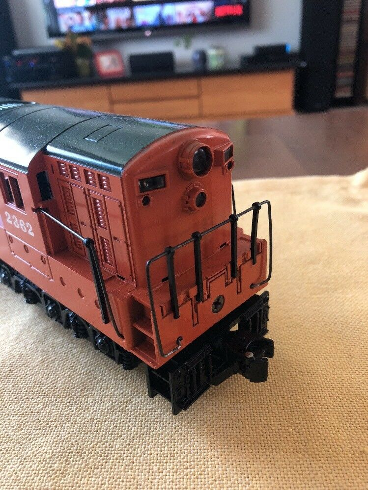 GREAT CONDITION Tested Williams Williams Williams O Scale Greath Northern Dual Motor Engine 2362 12ae9e