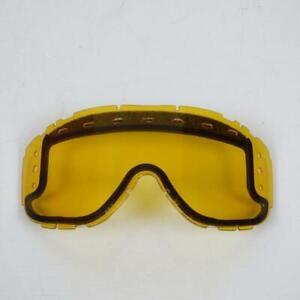 Visiere-ecran-de-casque-Smith-Moto-NC-PS23A-Piston-dual-roll-yellow-Neuf