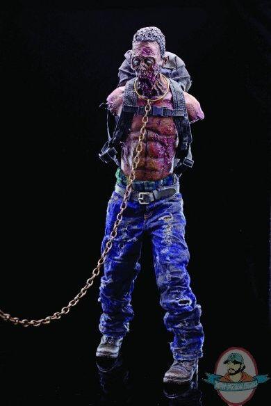1/6 Scale Walking Dead Michonnes Pet Zombie Walker Grün Boxer Version ThreeZero