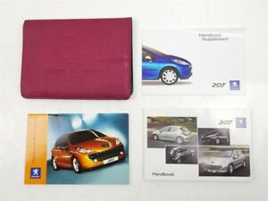 2006-2009-MK1-Peugeot-207-OWNERS-MANUAL-WALLET