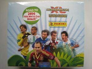 NEW-Panini-Adrenalyn-Xl-Card-Box-24-Packs-Fifa-Road-to-BRAZIL-World-cup-2014