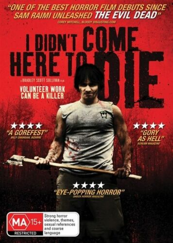 1 of 1 - I Didn't Come Here To Die (DVD, 2013) New/Sealed [Region 4] Horror