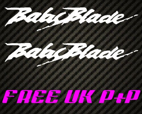 Babyblade Belly pan fairing sticker for NSR VFR RVF CBR 400  fireblade CBR400