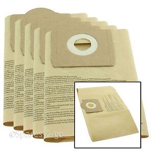 5 X Paper Dust Bag For Parkside Lidl Pnts Vacuum 1400 A1