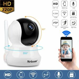 Sricam-Camera-IP-Wifi-720P-Securite-Vision-Nocturne-Audio-Detection-de-Mouvement