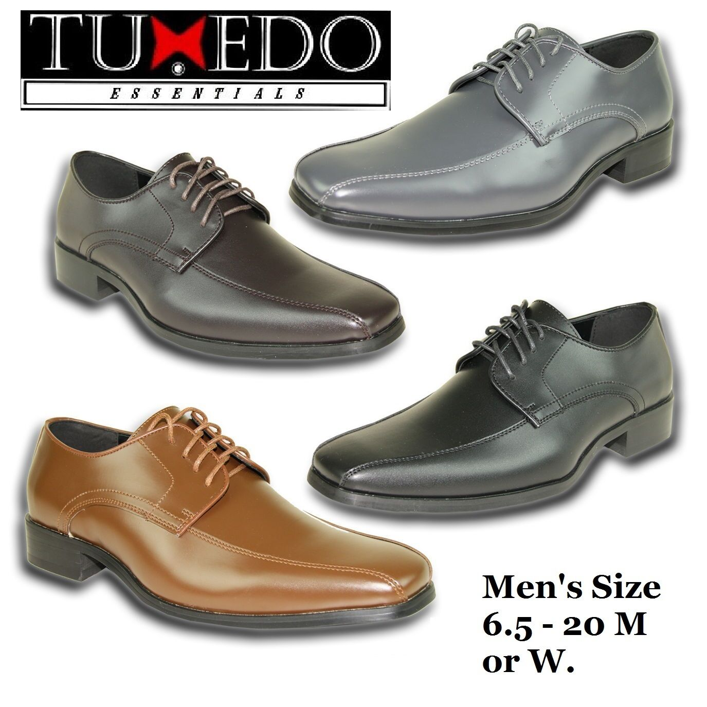 New Classic Mens Dress Shoes Size Classic New Oxford Formal Tuxedo Wedding Prom GIFT Sale 4d3332