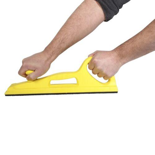 Schleiffeile 70x400mm Klett Handfeile für Schleifpapier Schleifstreifen Feile