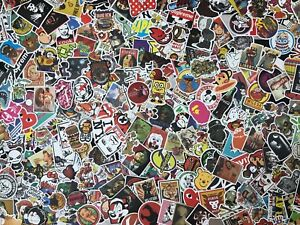 Lot-100-Random-Vinyl-Laptop-Skateboard-Stickers-bomb-Luggage-Decals-Dope-Sticker
