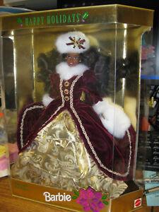 1996 African American Happy Holidays Barbie Mattel 15647