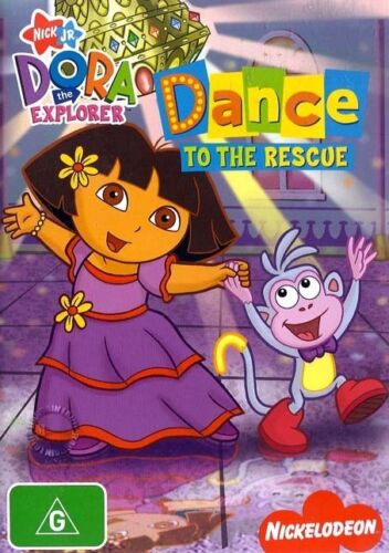 1 of 1 - Dora The Explorer DANCE TO THE RESCUE : NEW DVD