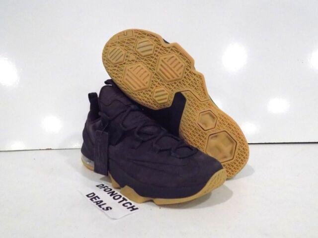half off 2c261 ab7e0 ... inexpensive nike lebron xiii 13 low premium basketball shoes sz 10 dark  grey gum ah8289 001