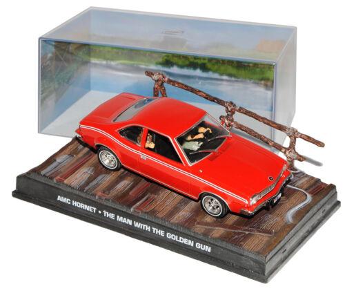 AMC Hornet l/'uomo con la dorata Colt James Bond 007 1//43 Ixo modello auto...