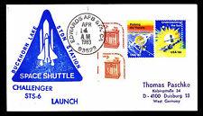 1983 LAUNCH OF CHALLENGER STS-6 - BUCKHORN LAKE STDN STATION - EDWARDS(ESP#2728)