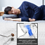 Creative Deep Sleep Addiction 3D Washable Micro Airballs Filling Travel Pillow