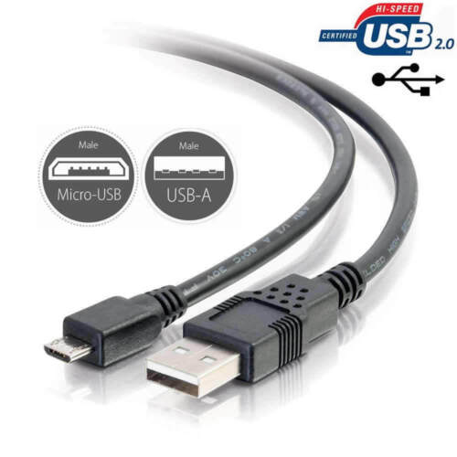 USB Power Charging Charger Cable Cord for TomTom GO 50 Trucker GPS Navigation