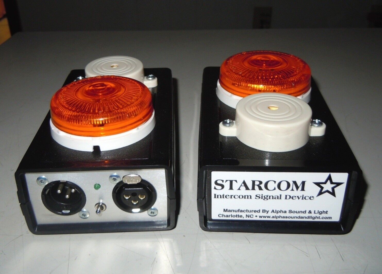 STARCOM Call Light Beacon Compatible with CLEAR COM Manufacturer Direct