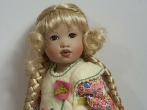 """GOLDEN STRAWBERRY Doll Wig Braids Size 5-6 For 11/"""" Kish Bitty Bethany Debs"""