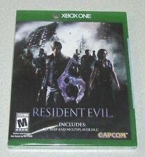 Resident Evil 6 for Xbox One Brand New! Factory Sealed!