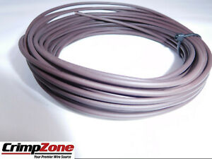 BROWN-16-GAUGE-GXL-AUTOMOTIVE-WIRE-HIGH-TEMPERATURE-COPPER-USA-25-FEET