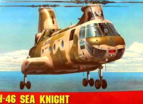 BOEING CH-46//UH-46 A SEA KNIGHT 1//72 GOMIX VERY RARE !!!