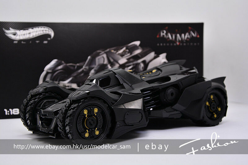 clásico atemporal Hot Hot Hot Wheels Elite 1 18 Batman Arkham Knight  precios razonables