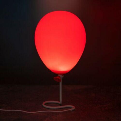 Officiel de Stephen King IT Pennywise ballon lampe de bureau Lampe de table.