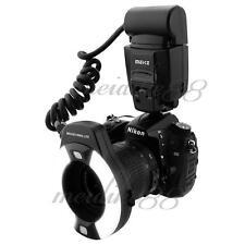 Meike MK-14EXT iTTL TTL LED Macro Ring Flash Light for Nikon D4 D800 D5200 D7100