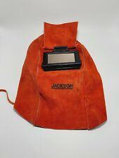 Jackson Safety 860p 2l Lightweight Leather Passive Welding Helmet Witho Headgear