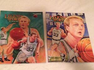 Larry-Bird-Legend-Sports-Memorabilia-VINTAGE-Magazines-1993-22K-Edition-LOT-of-2