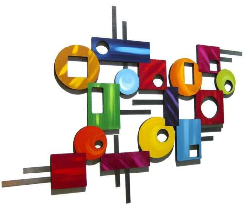 Peace out wall Sculpture #4 Contemporary Modern Geometric Abstract wall decor