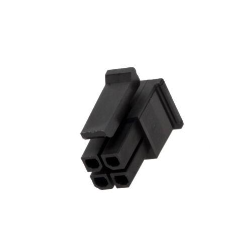4 MOLEX 4X 43025-0408 Stecker Leitung-Platte weiblich Micro-Fit 3.0 3mm PIN