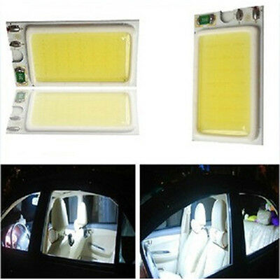 24 Chips COB LED High Power 12V Dome Panel Car Map Read Light Roof Interior Lamp