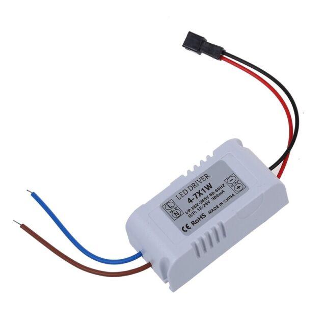 2X(6W LED Light Lamp Driver Power Supply Converter Electronic Transformer T9W4)