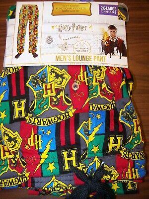 HARRY POTTER Mens Hogwarts Pajamas