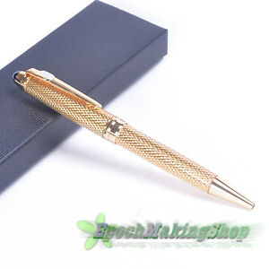 free-shipping-jinhao-163-NOBLEST-golden-CARVED-Ball-Point-Pen-NEW