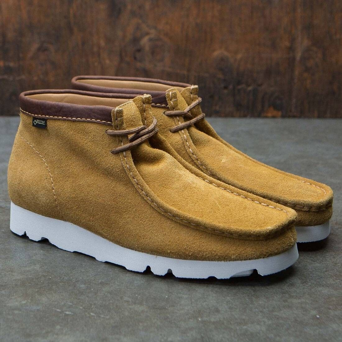 Clarks Originals Men's  X WALLABEE GTX , Ochre Suede , G