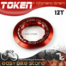 11T 012 gobike88 TOKEN Lock Ring for Shimano Cassette Red