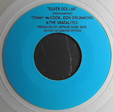 "THE SKATALITES - SILVER DOLLAR (7"" INSTRUMENTAL) TREASURE ISLE SKA!!!!"