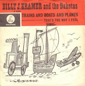 BILLY-J-KRAMER-AND-THE-DAKOTAS-Trains-And-Boats-And-Planes-1965-SINGLE-7-034