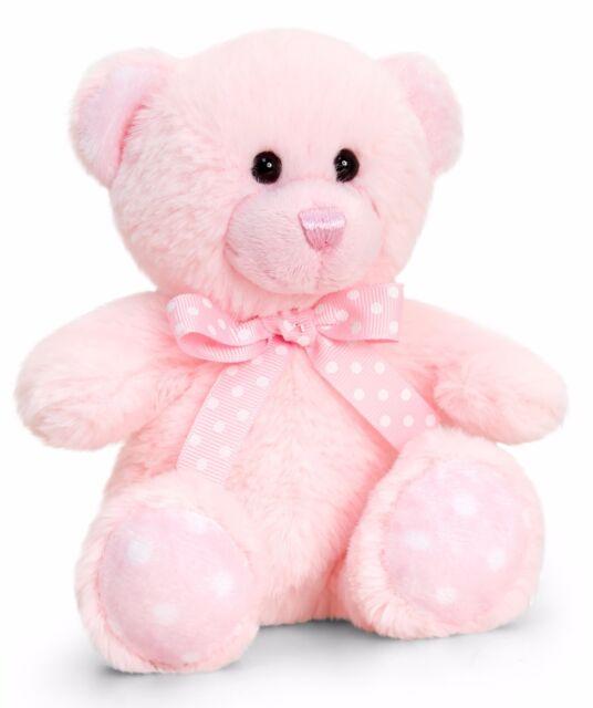 Plüschbär Schlafbärchen mit Mütze und Schal Baby Geschenk rosa// hellblau Auswahl