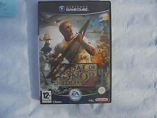 jeu nintendo game cube medal of honor soleil levant  complet
