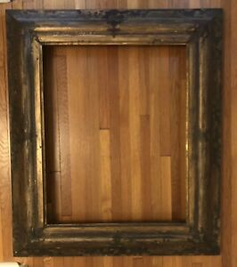 Antique 17th Century Spanish Baroque Picture or Mirror Frame