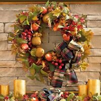 Harvest Fruits Of Fall 26 Wreath Autumn Indoor Thanksgiving Holiday Decoration