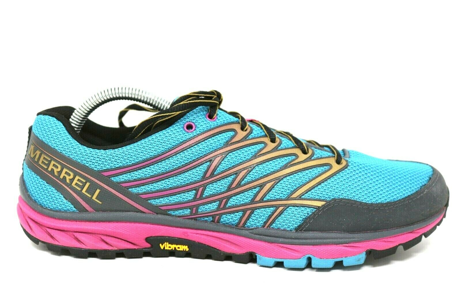 Merrell Bare Access Minimalist bluee Moongold Athletic shoes Womens Size 11