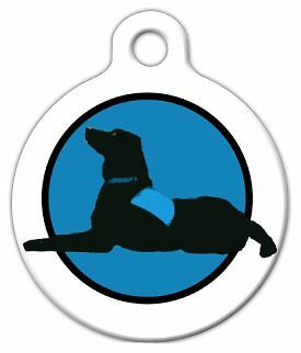 THERAPY DOG - Custom Personalized Pet ID Tag for Dog and Cat Collars