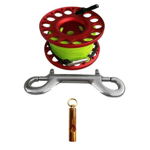 Tauchspule Dive Reel Underwater Gear Outdoor Sports   Whistle