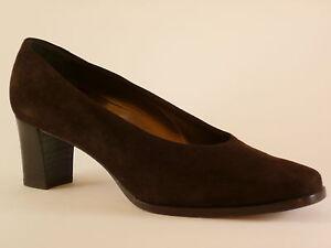 Gr 5 Femmes Chaussures Velours Marron 40 Marcello Giovannetti Escarpins 39 41 R6pqTcPwx