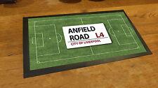 Anfield Liverpool campo da calcio Bar runner Birra tappetino Pub e Mazze