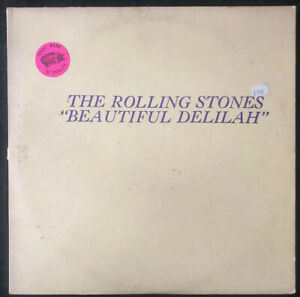 ROLLING-STONES-Beautiful-Delilah-1971-Bootleg-LP-TMQ-71021-EX-NM-Yellow-Vinyl